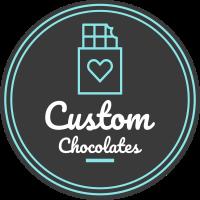 custom chocolates logo
